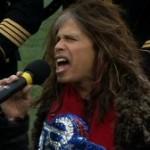 2ちゃんねる:【米国】国歌をシャウト!スティーヴン・タイラーのロックすぎる国歌斉唱に非難の声