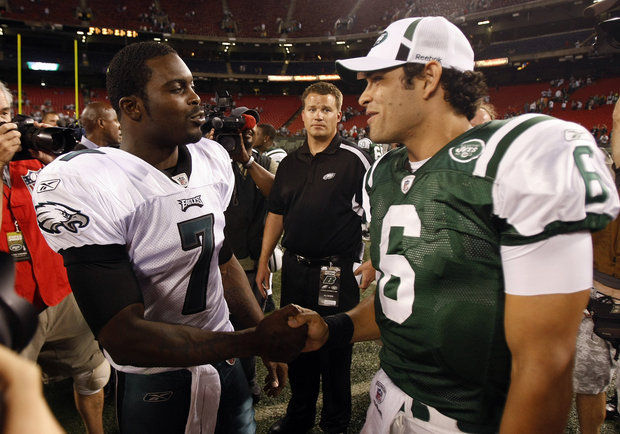 Mark Sanchez & Michael Vick