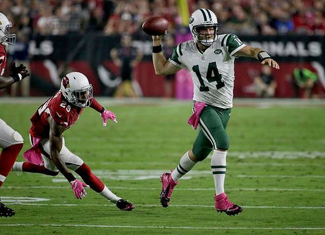 JETS cardinals ryan fitzpatric