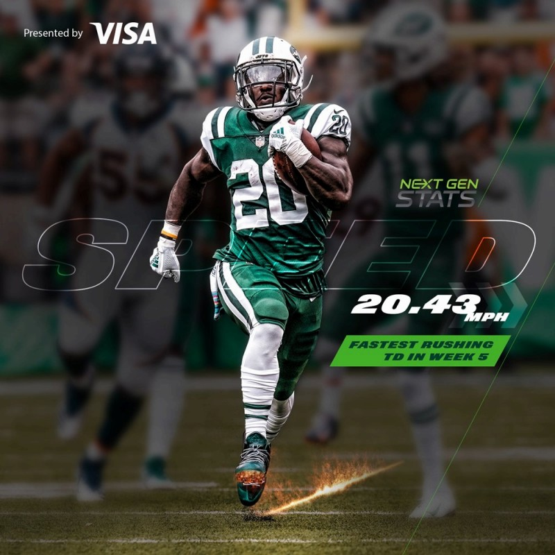 IsaiahCrowell アイゼア・クロウェル 週間MVP NFL JETS ジェッツ