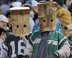JETS disppointed fan