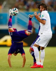 ギリシャ 内田 ワールドカップ2014