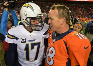 Philip rivers, Peyton Manning