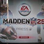 2013年8月15日放談:MADDEN NFL 25 のDEMO配信中