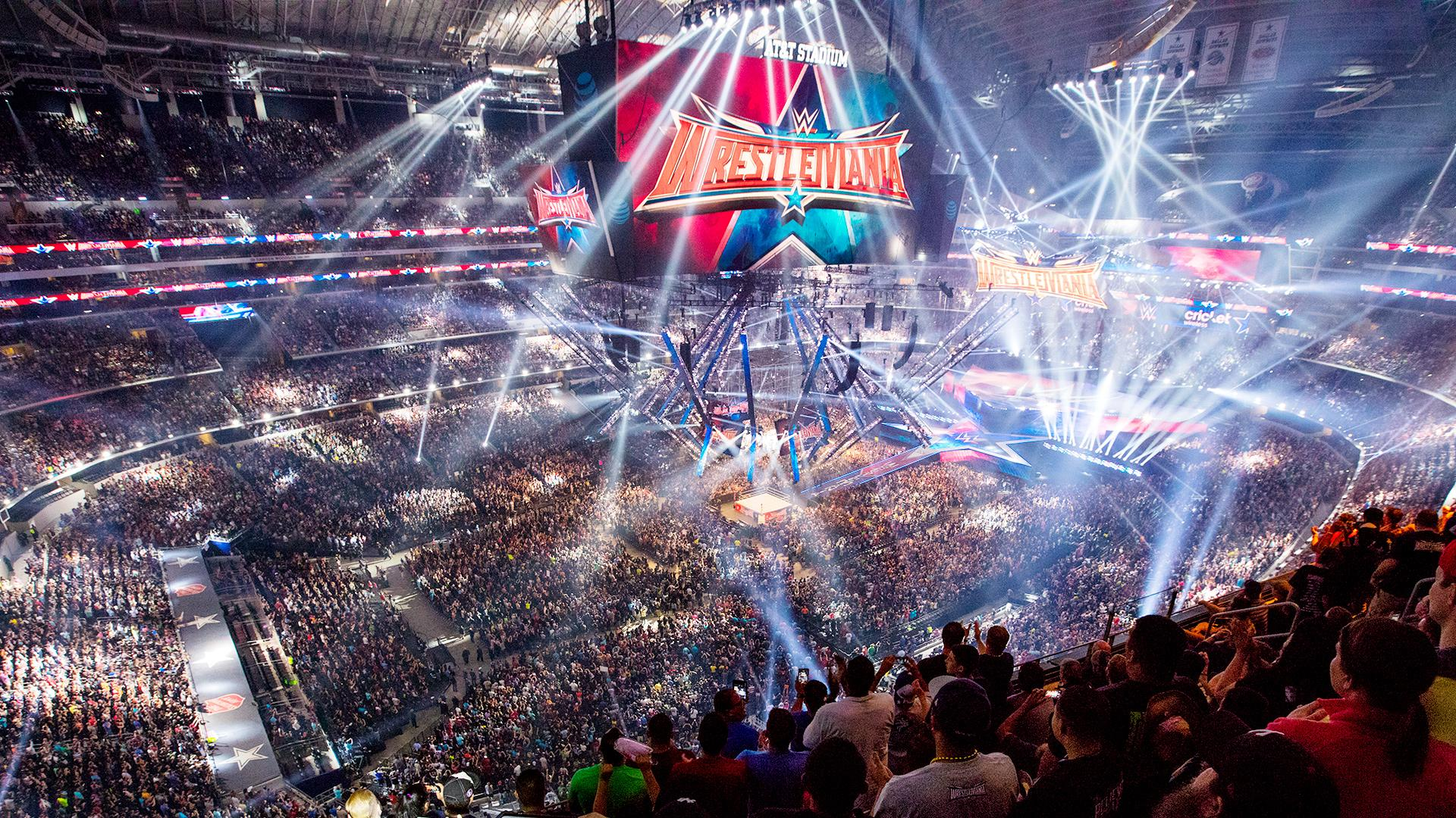 WWE】@AT&Tスタジアム 、レッ...